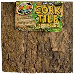 "Cork Tile Background - 12"" x 12"" (Zoo Med)"