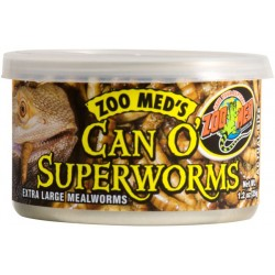 Can O' Superworms - 1.2 oz (Zoo Med)