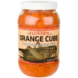 Orange Cube Cricket Diet - 12 oz (Fluker's)