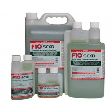 F10SCXD Veterinary Cleaner-Sanitizer - 3.4oz