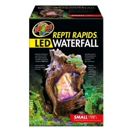 LED Waterfall - Small Wood (Zoo Med)