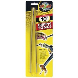 "Feeding Tongs - 10"" (Zoo Med)"