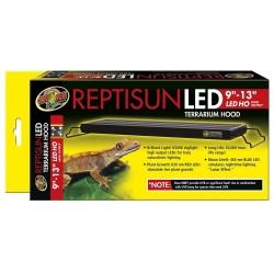 """ReptiSun LED Terrarium Hood 9"""" - 13"""" (Zoo Med)"""