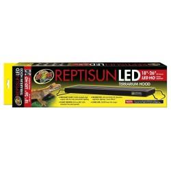 """ReptiSun LED Terrarium Hood 18"""" - 26"""" (Zoo Med)"""