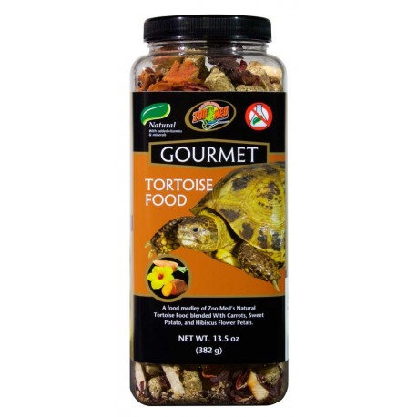 Gourmet Tortoise Food - 13.5 oz (Zoo Med)