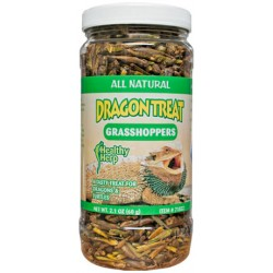 Dragon Treat - Grasshoppers (Healthy Herp)