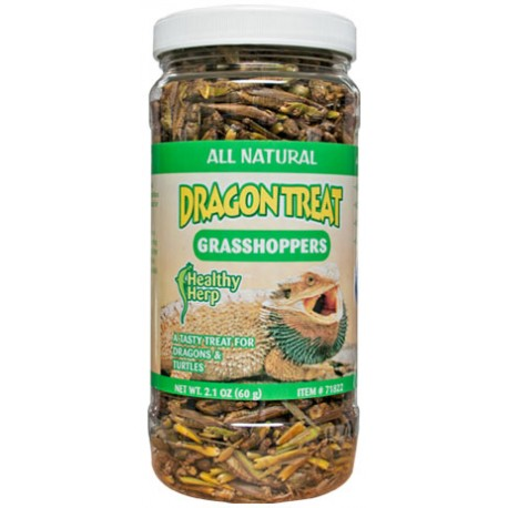Dragon Treat Grasshoppers (Healthy Herp)