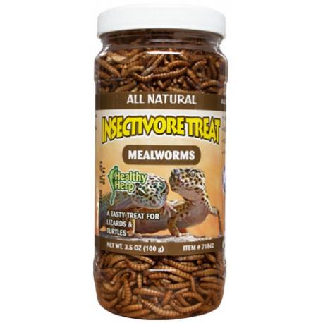 Insectivore Treat Mealworms (Healthy Herp)