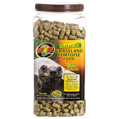 Grassland Tortoise Food - 60 oz (Zoo Med)