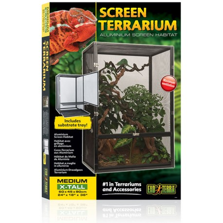 Screen Terrarium - Medium/X-Tall (Exo Terra)