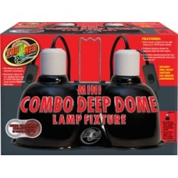 Mini Combo Deep Dome Lamp Fixture (Zoo Med)