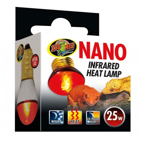 Nano Infrared Heat Lamp - 25w (Zoo Med)
