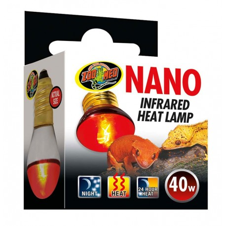 Nano Infrared Heat Lamp - 40w (Zoo Med)
