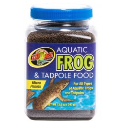 Aquatic Frog & Tadpole Food - 12 oz (Zoo Med)