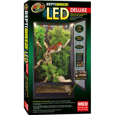 Zoo Med Reptibreeze Led Deluxe