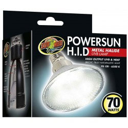 PowerSun H.I.D. Metal Halide UVB Lamp