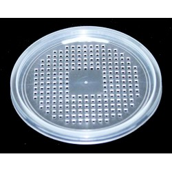Deli Cup Lids - Waffle Vented - 4.5""