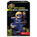 Repti Rapids LED Skull Waterfall - Small (Zoo Med)