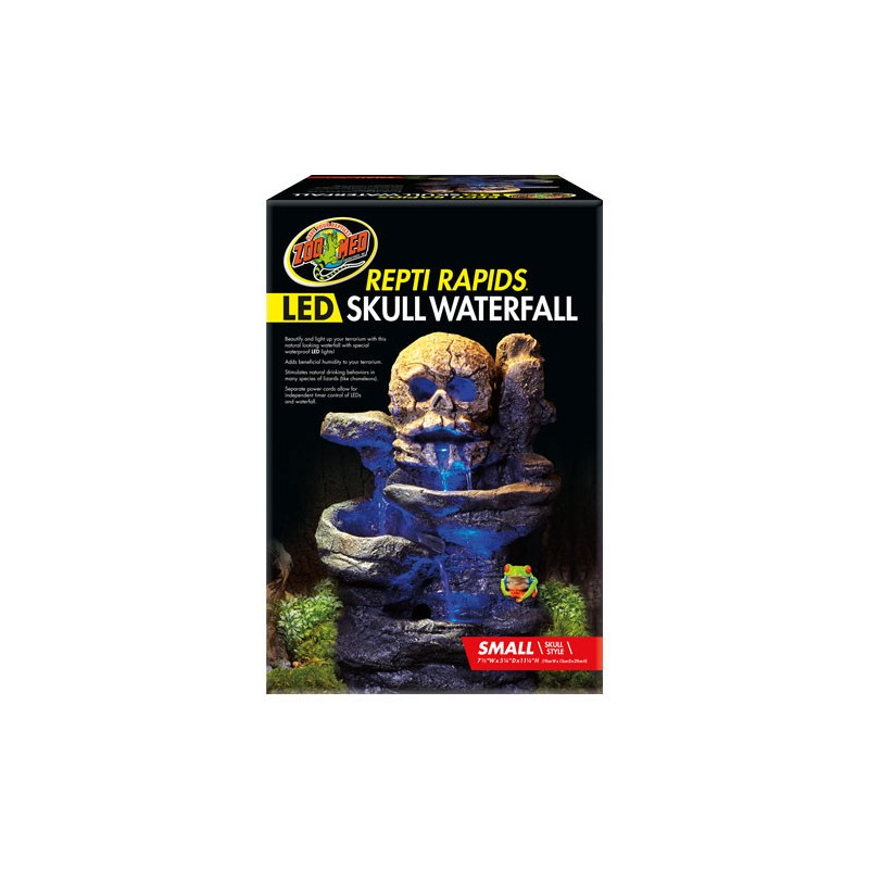 Zoo Med Led Skull Waterfall