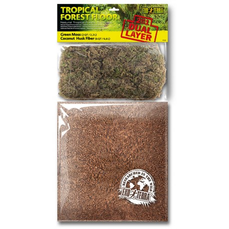 Tropical Forest Floor - 2 qt / 6 qt (Exo Terra)