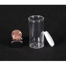 Clear Plastic Vial - 7 Dram