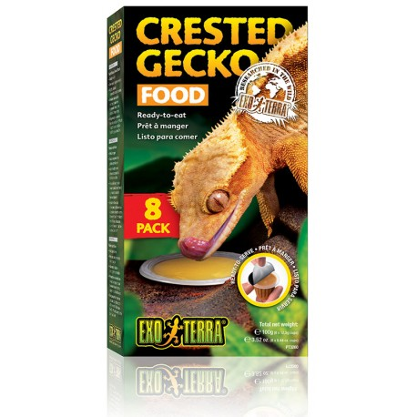 Crested Gecko Food - 4 Pack (Exo Terra)