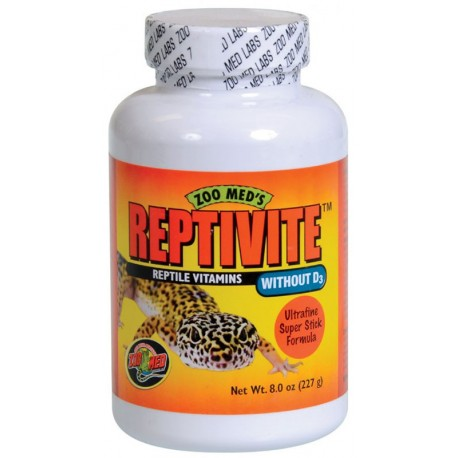 ReptiVite without D3 - 8 oz (Zoo Med)