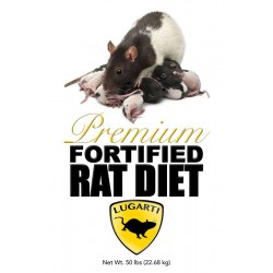 Premium Fortified Rat Diet - 50 lb (Lugarti)