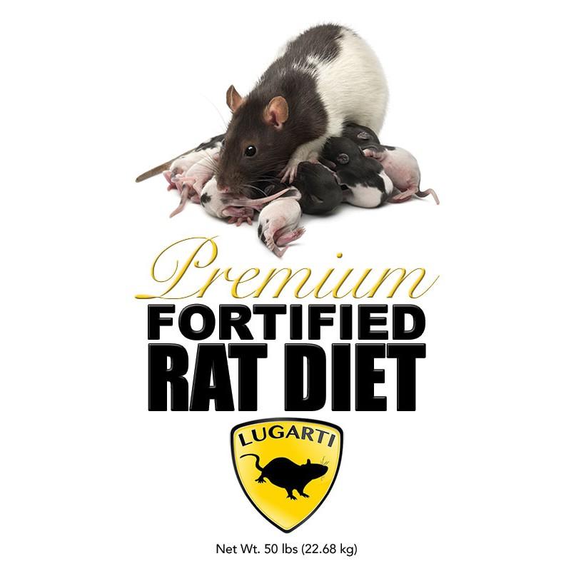 Lugarti Premium Fortified Rat Diet