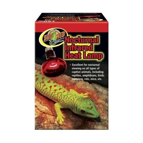 Nocturnal Infrared Heat Lamp - 50w (Zoo Med)