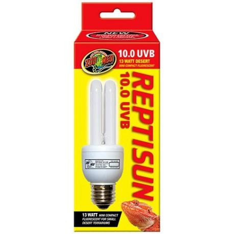 ReptiSun 10.0 UVB (Mini) Compact Fluorescent (Zoo Med)