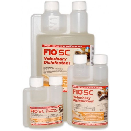 F10SC Veterinary Disinfectant - 3.4 oz