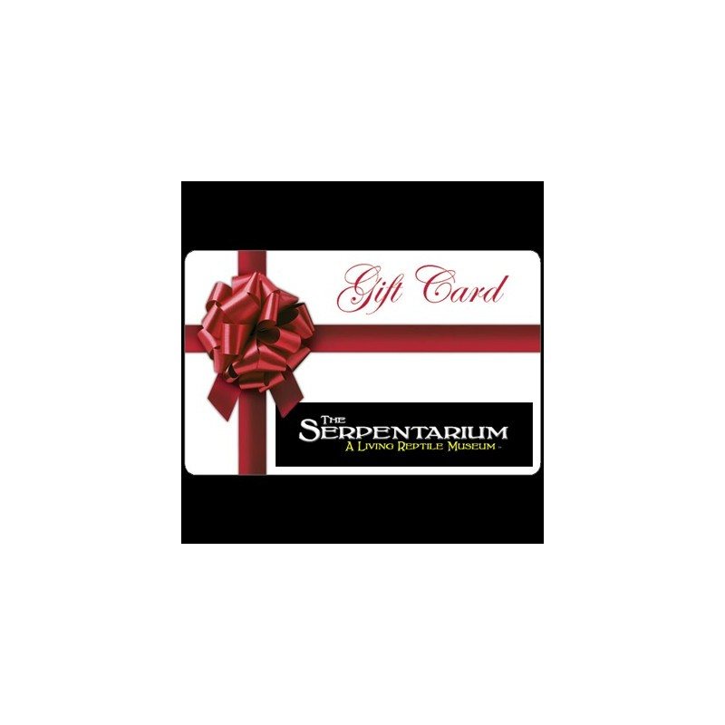 The Serpentarium Gift Certificate