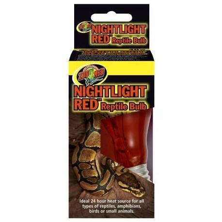 Nightlight Red Bulb - 60w (Zoo Med)