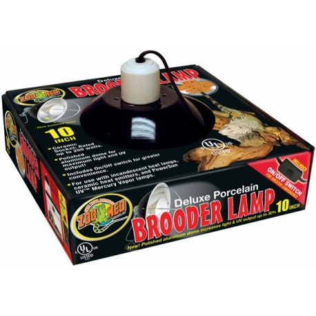 "Brooder Lamp - 10"" (Zoo Med)"