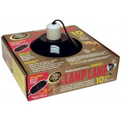 "Clamp Lamp Dimmable - 8 1/2"" (Zoo Med)"