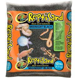 ReptiSand - Midnight Black - 10 lbs (Zoo Med)