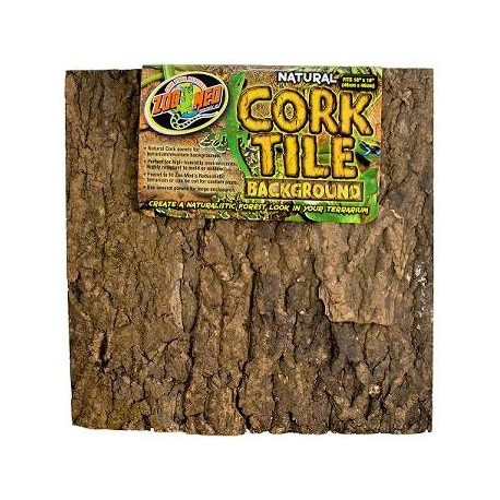 Zoo Med Cork Tile Background 12 Quot X 18 Quot