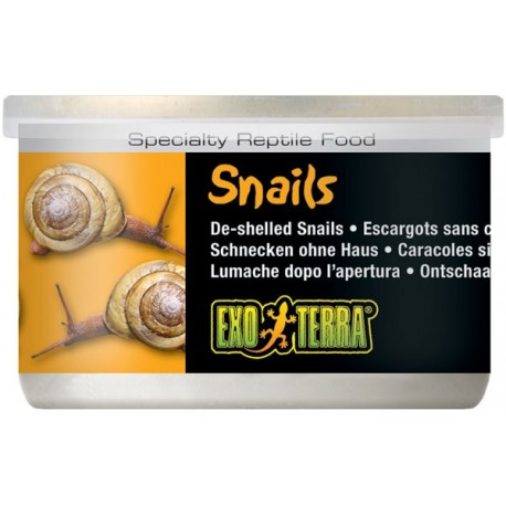 Snails - 1.7 oz Can (Exo Terra)