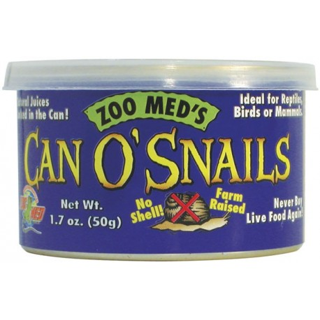 Can O' Snails - 1.7 oz (Zoo Med)