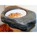 Worm Feeder Ledge - SM - Granite (Pet-Tekk)