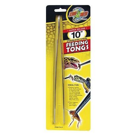 """Feeding Tongs - 10"""" (Zoo Med)"""