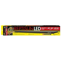 """ReptiSun LED Terrarium Hood 30"""" - 38"""" (Zoo Med)"""