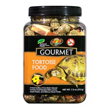 Gourmet Tortoise Food - 7.25 oz (Zoo Med)