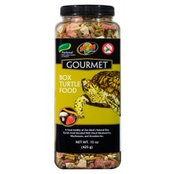 Gourmet Box Turtle Food - 15 oz (Zoo Med)
