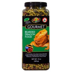 Gourmet Bearded Dragon Food - 15 oz (Zoo Med)