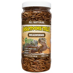 Insectivore Treat - Mealworms (Healthy Herp)