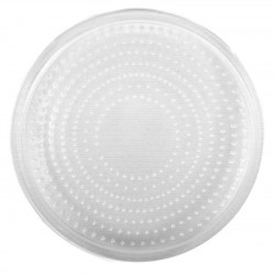 "4.5"" Deli Cup Lids - Vented (Placon)"