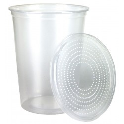 Insect Cup w/ Vented Lid - 32 oz (Placon)