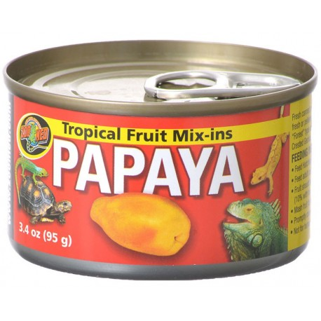 Tropical Fruit Mix-Ins - Papaya (Zoo Med)